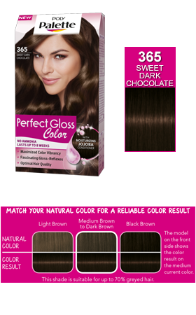 Conair clip ultimate updo. Palette perfect gloss color