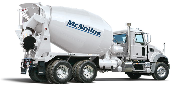 Cement truck png. Concrete mixers mcneilus overview
