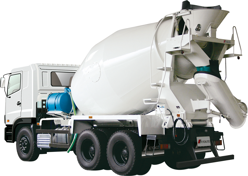 Concrete truck png. Mixer product guide kyokuto