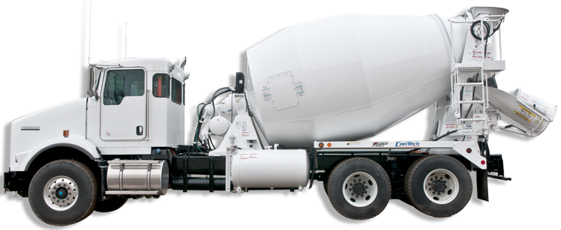 Concrete truck png. Extreme duty