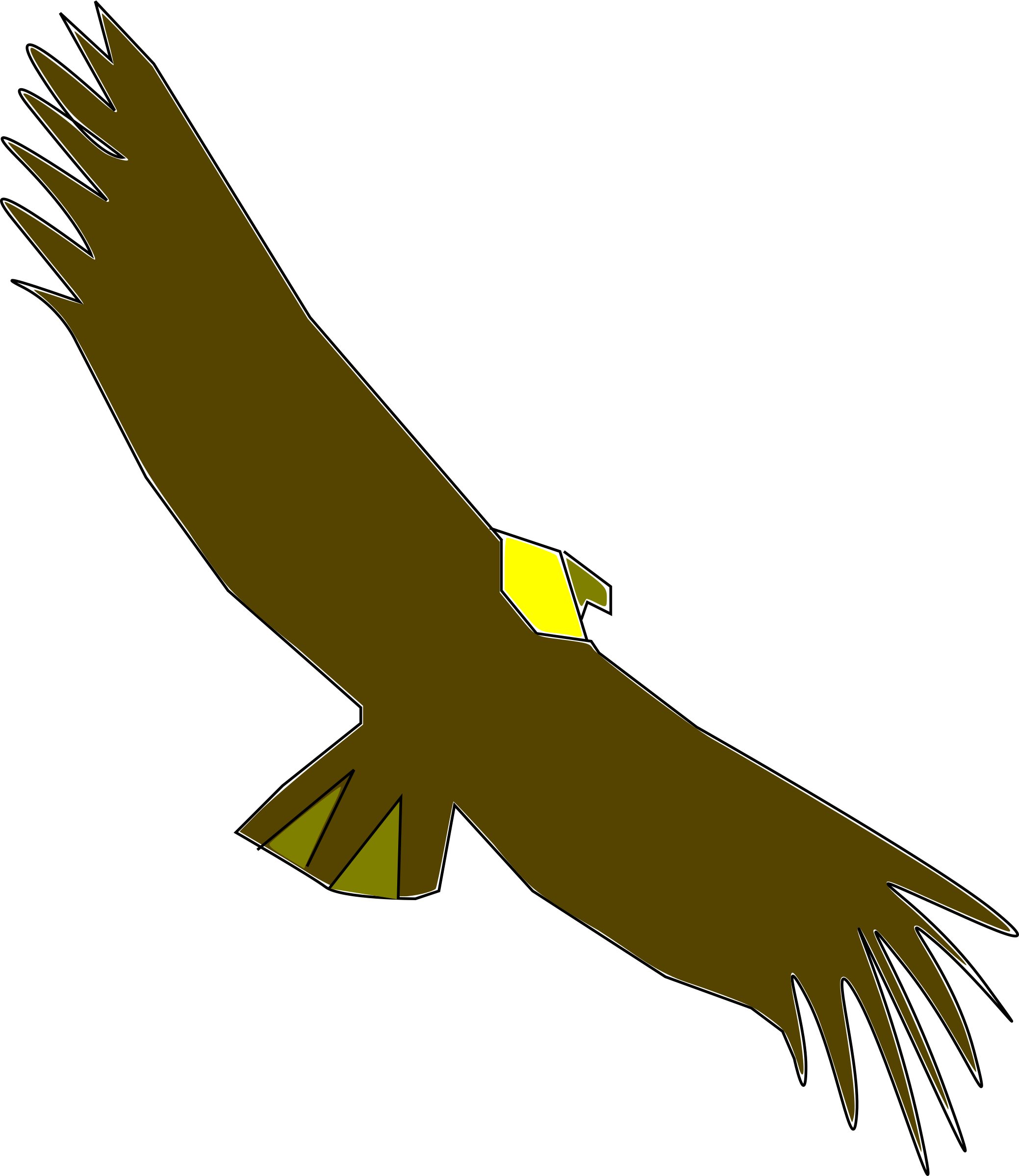 Condor drawing easy. Clipart at getdrawings com