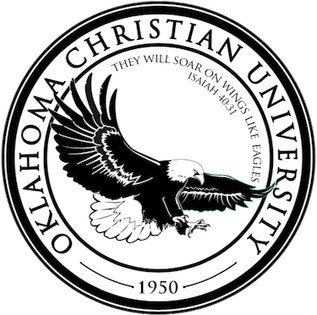 Condor drawing emblem. Oklahoma christian university wikipedia