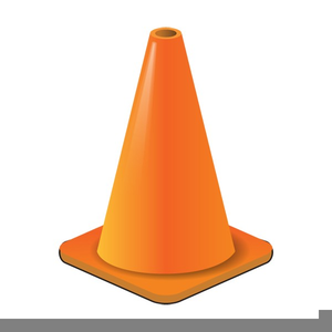 Cone clipart caution. Free images at clker