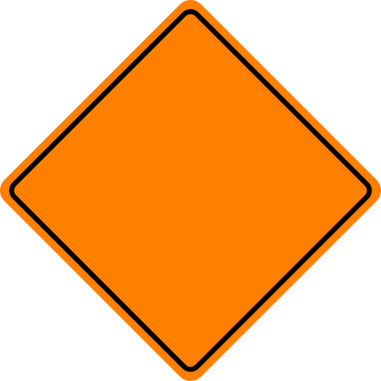 Caution kids hard at. Danger clipart blank yield sign graphic freeuse download