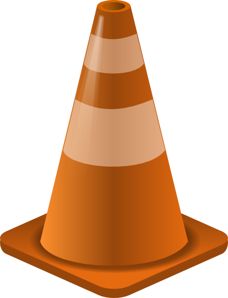 Cone clipart construction zone. Clip art at clker