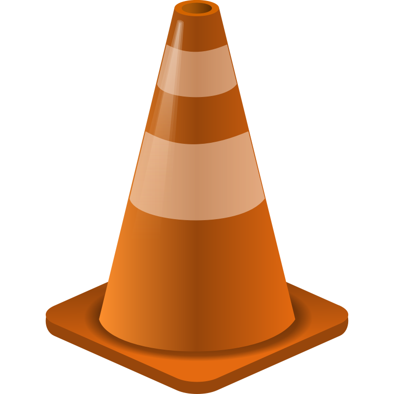 Cone clipart parking lot construction. Free image download clip