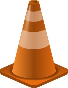 Cone clipart parking lot construction. Get free clip art