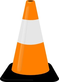Cone clipart road work. Construction safety jpg theme