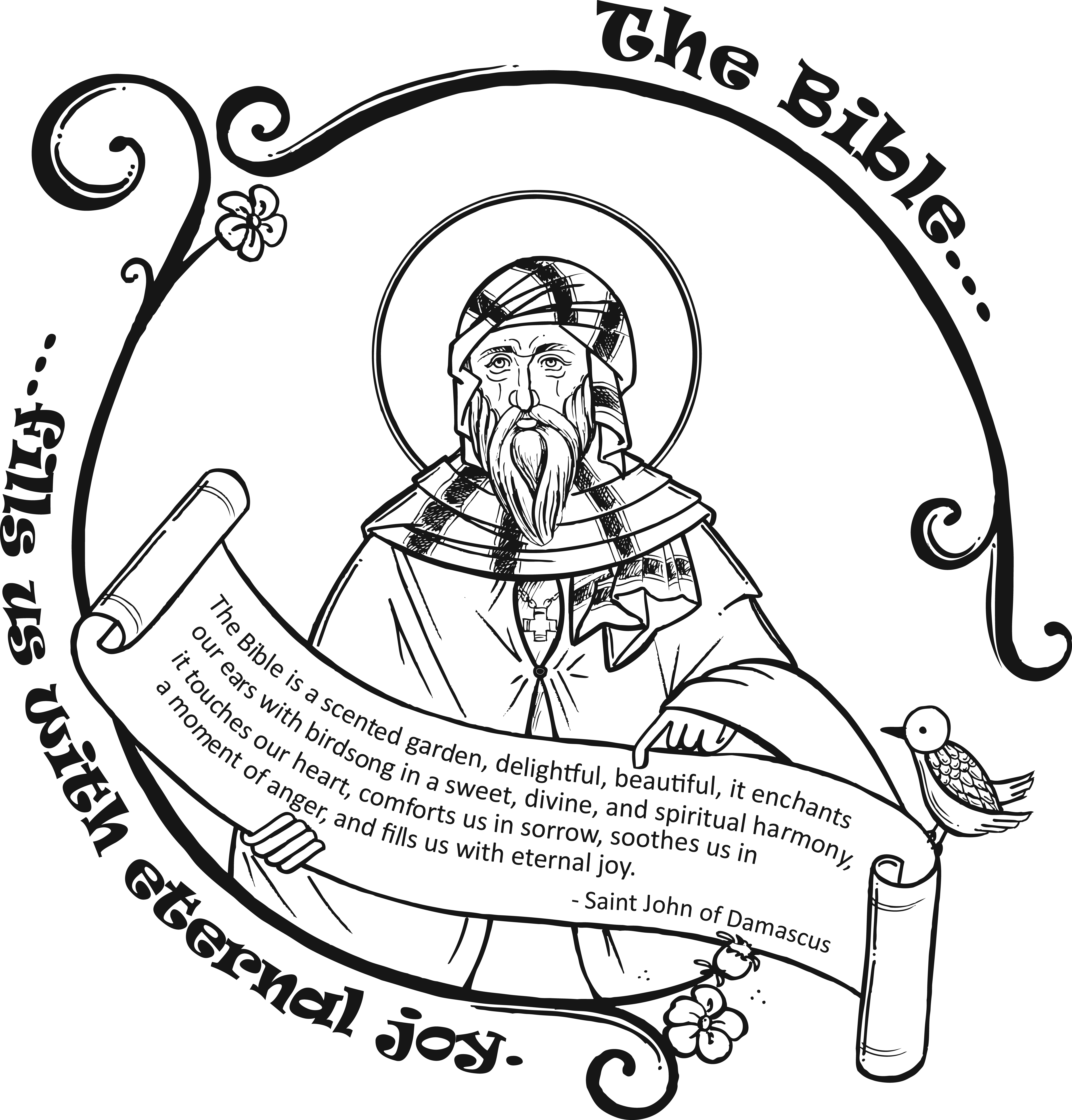 Orthodox Christian Icon Coloring Book | Orthodox christian icons ... | 5014x4800