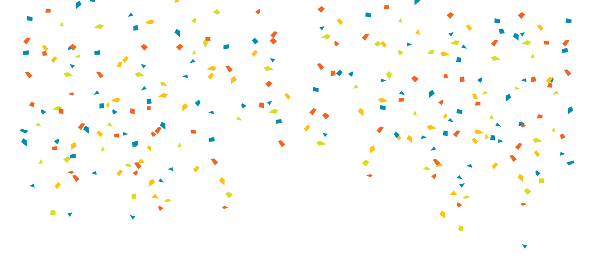 Blue confetti png. Transparent images all aways
