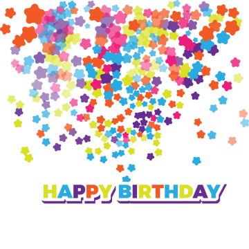 Confetti vector png. Colorful vectors psd and