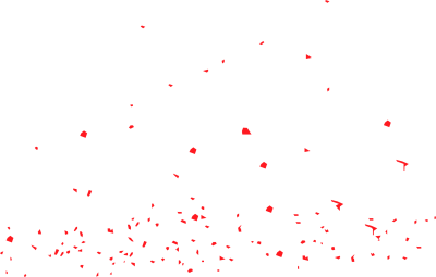 Red confetti png. Download free transparent image