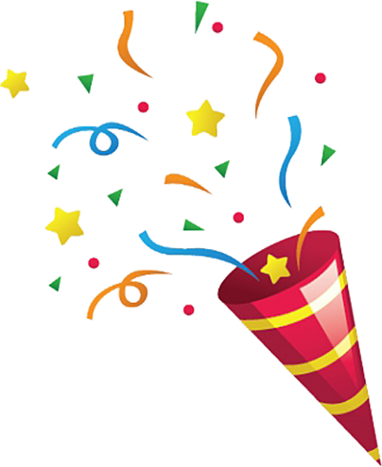 Confetti drawing transparent. Banner royalty free