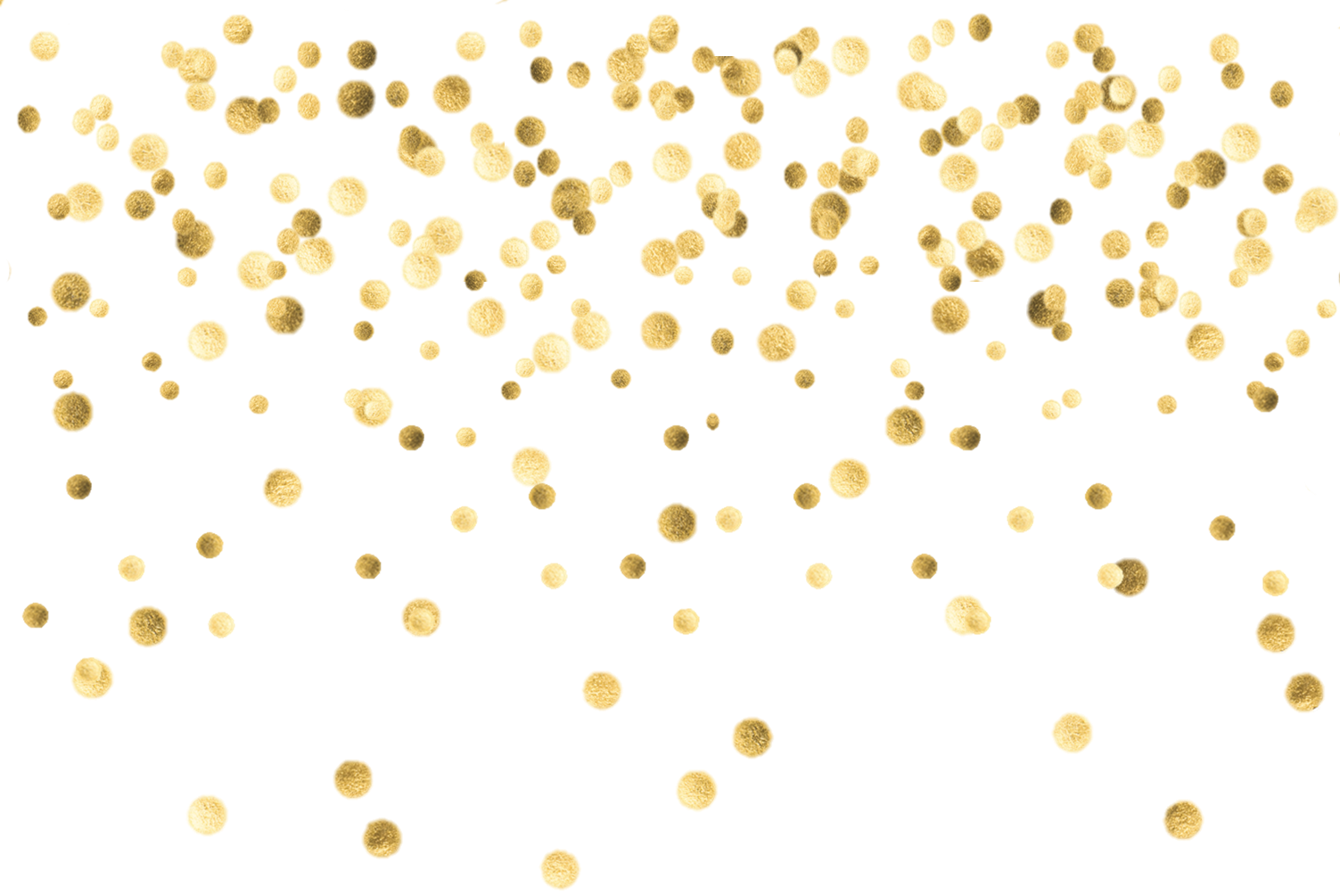 Confetti falling png. Collection of gold