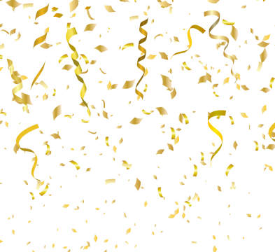 Confetti overlays png. Overlay