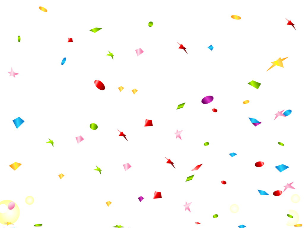 Confetti overlays png. Download transparent images best