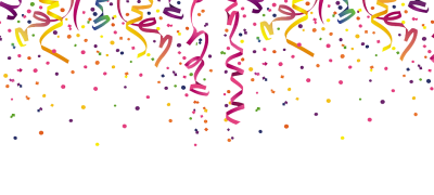Falling confetti png. Download free transparent image
