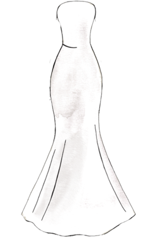 Natural drawing dress. Style guide angrila the