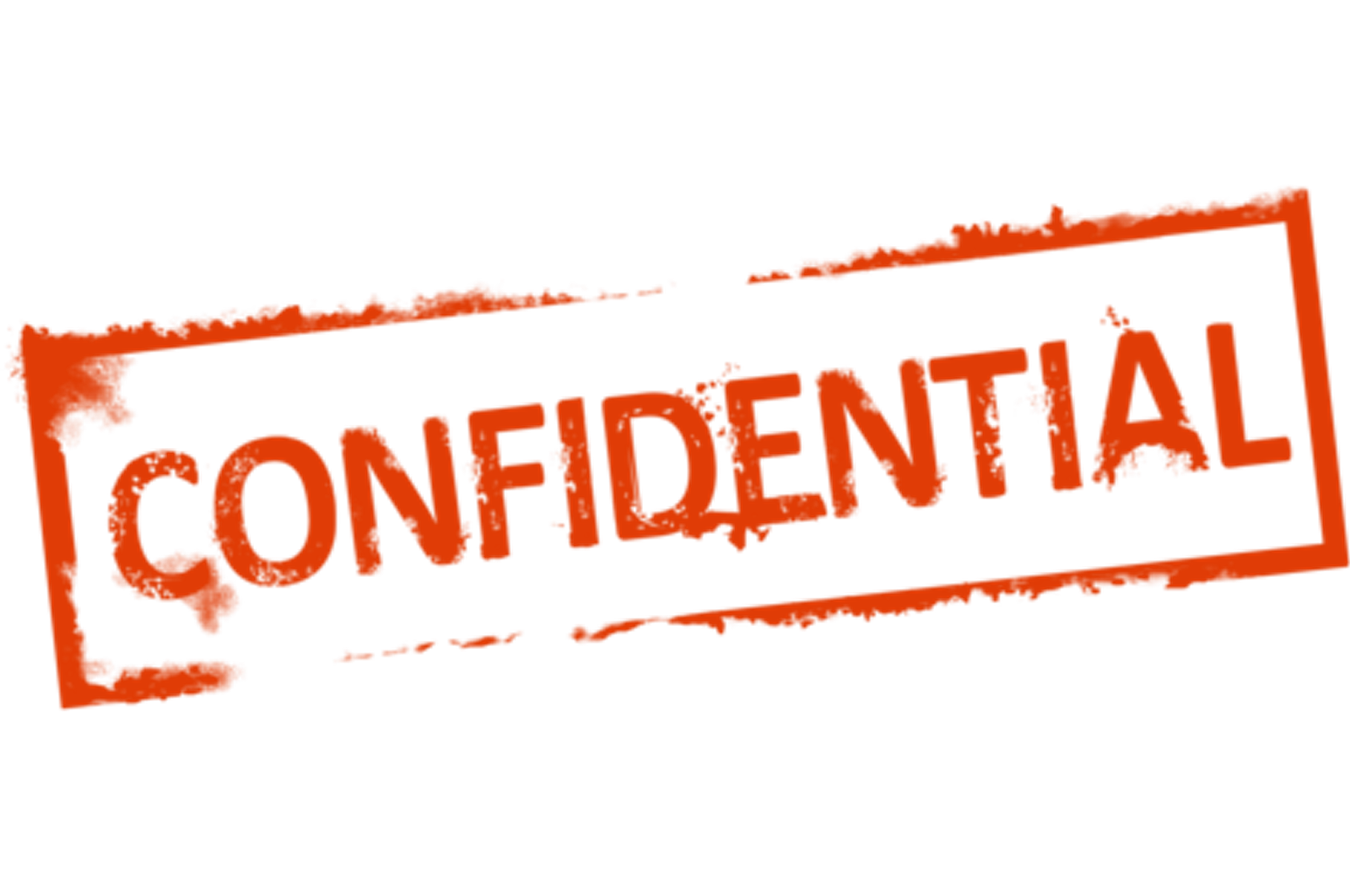 Confidential stamp png. Rubber steve cadwell phd
