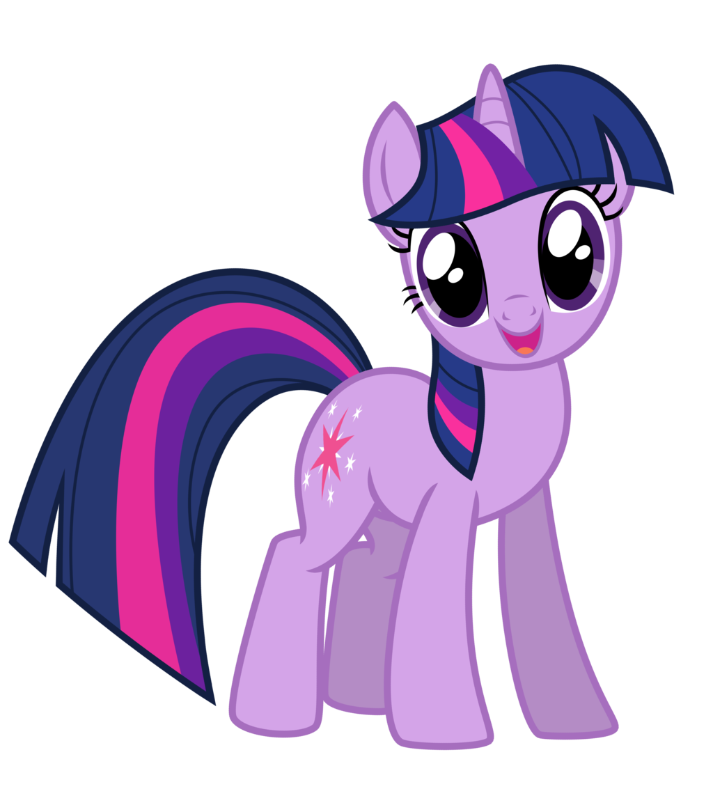 Twilight sparkle confused png. Transparent vector clipart psd