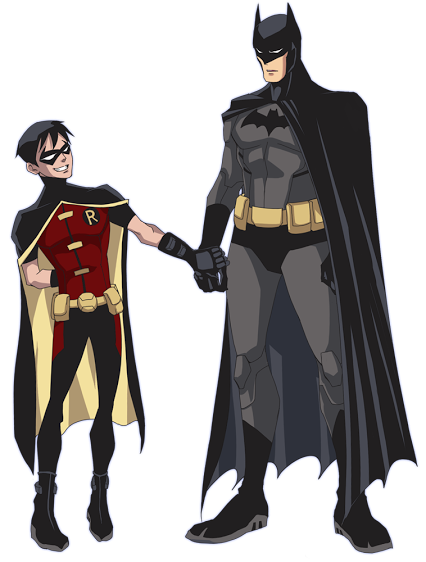 Robin comic png. And batman father son