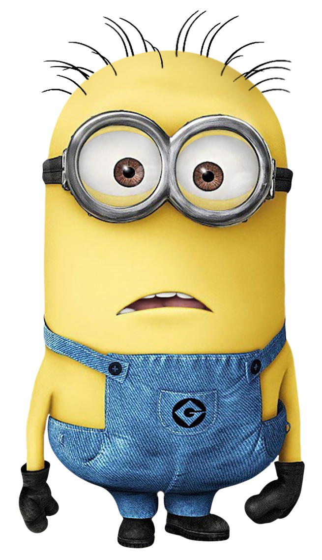 Confused black guy transparant png. Transparent minion picture klipartai
