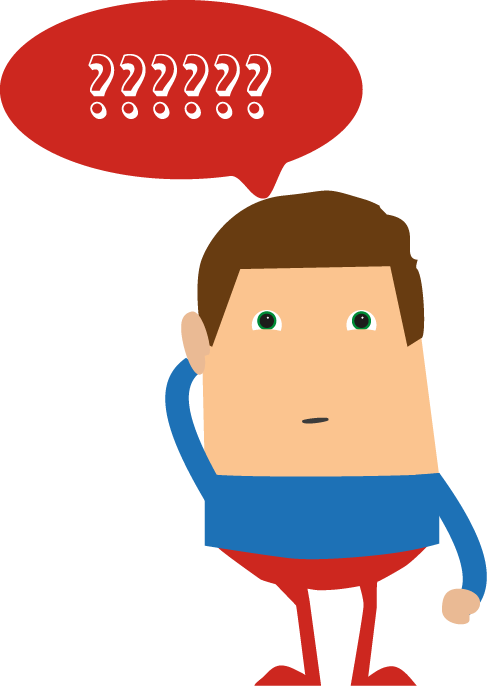 Confused cartoon transparent png. Collection of clipart
