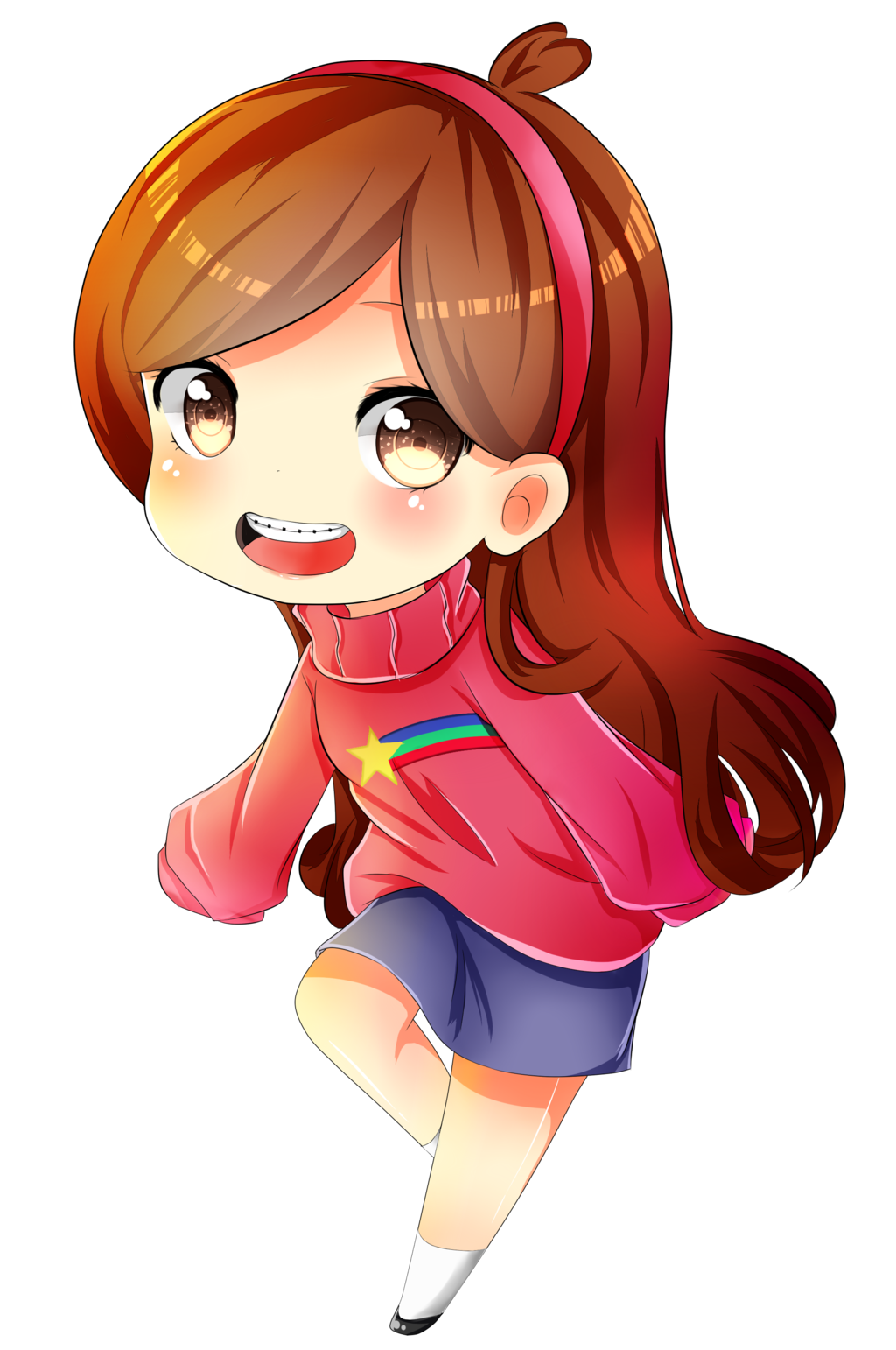 Confused chibi png. Msparp beta mabel is