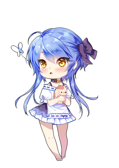 Confused chibi png. My saska chan by