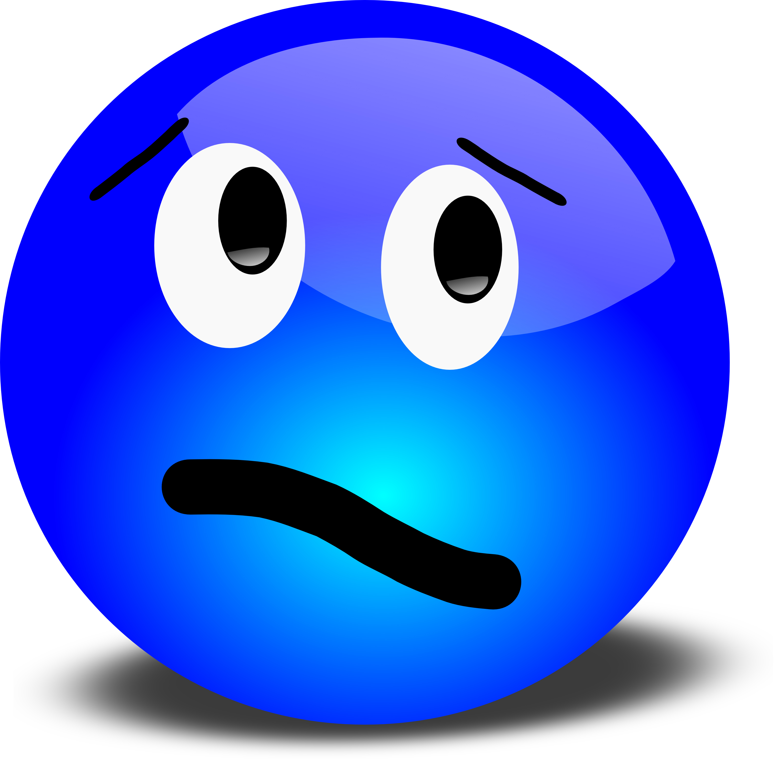 Confused clipart unsure. Face