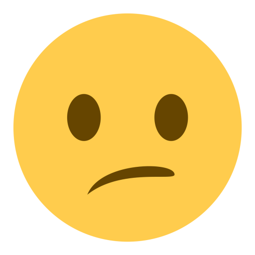 Confused emoji png. Face amaze icon free