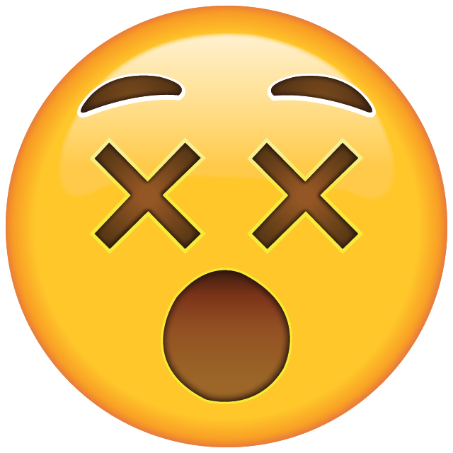 Confused emoji png. Download dizzy face icon