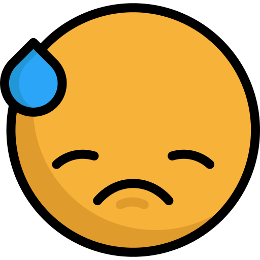 Confused emoji png transparent background. Embarrassed icon repo free