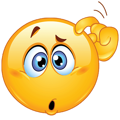 Confused emoji png transparent background. Pin by imre moln