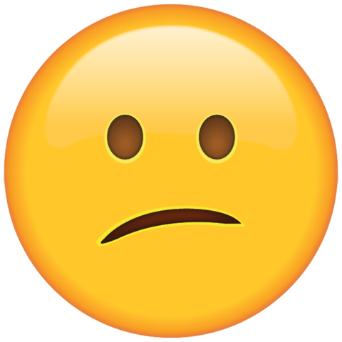 Confused emoji png. Download face icon island