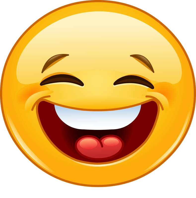 laughing face png