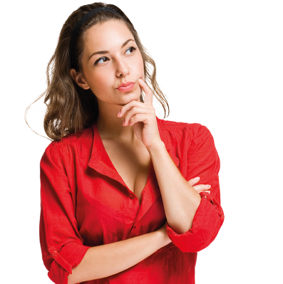 Confused girl png jpg transparent library