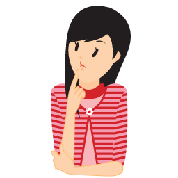 Confused girl png. Image
