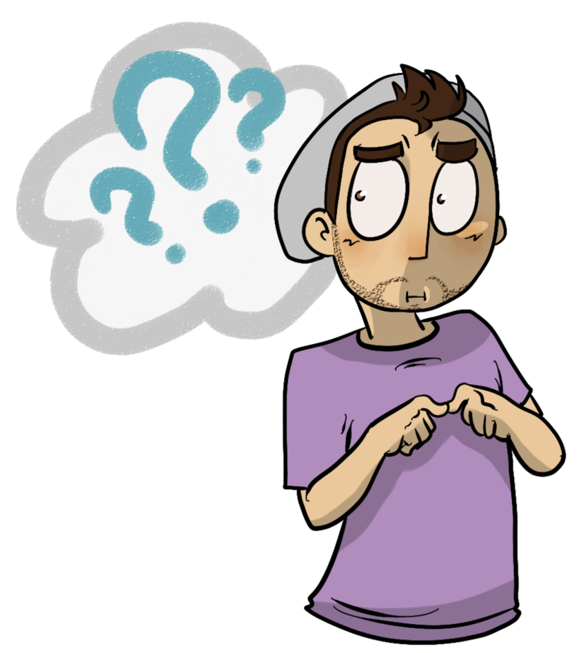 Confused look png image. Collection of clipart