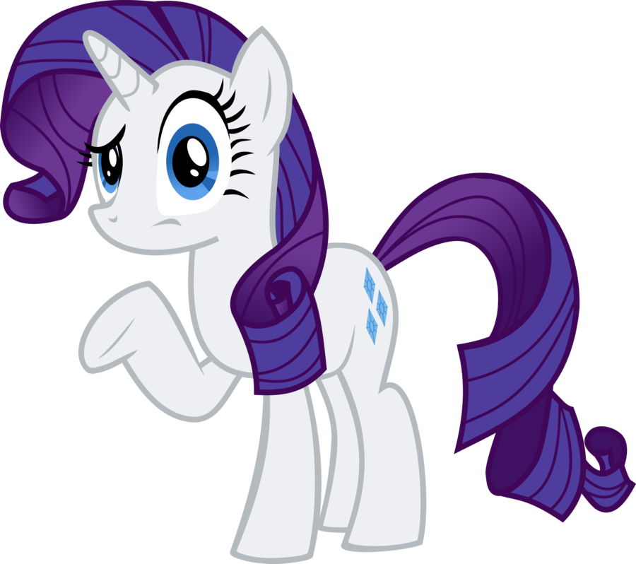 Confused mlp png. Image a rarity by