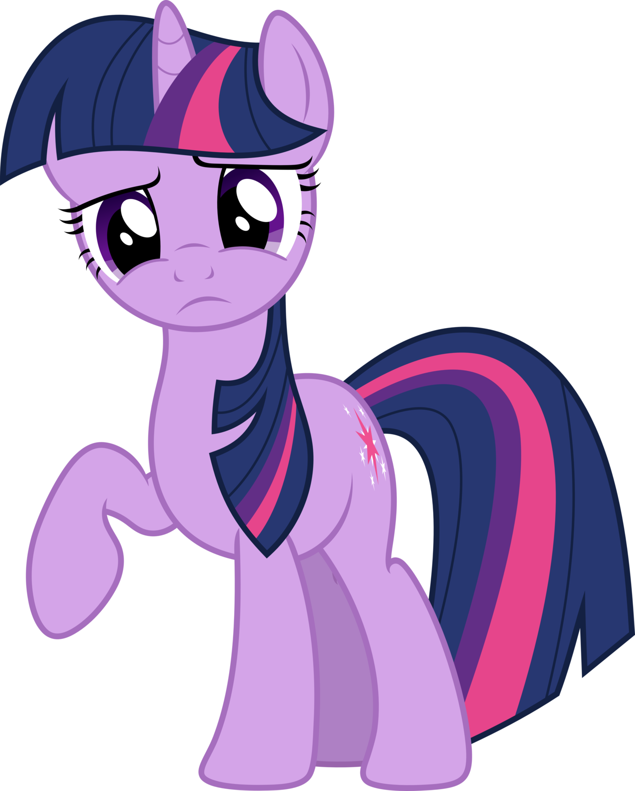 twilight sparkle confused png