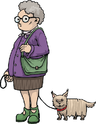 Confused old lady png. Images clip art clipart