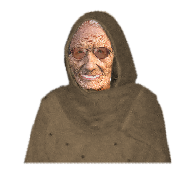 Confused old lady png. The road to khalistan