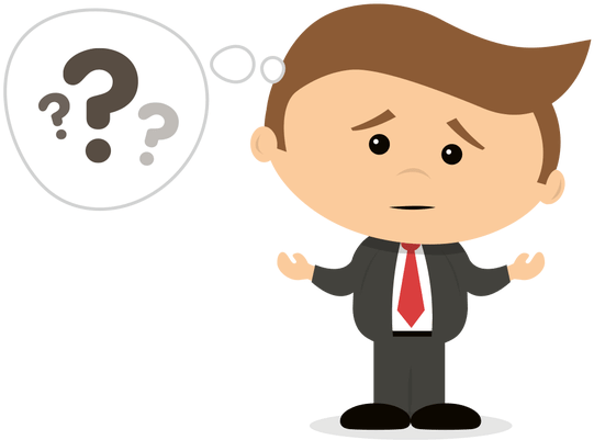 Confused person png animated. Download man clipart x