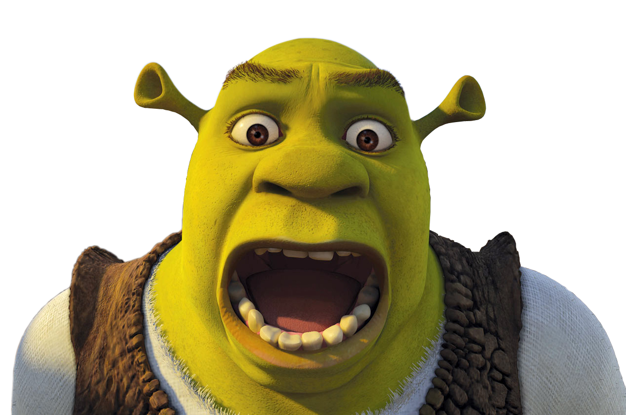 Confused shrek png. Trump wasn t the