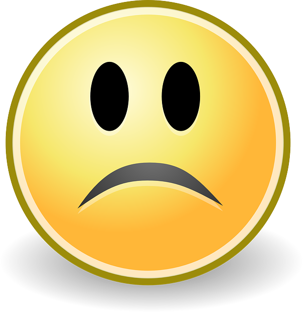 Emoji clipart sad. Free smiley face with