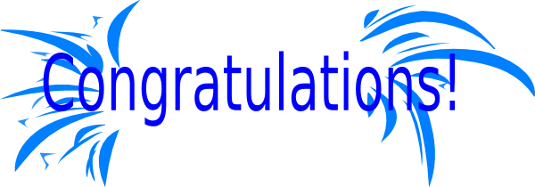 Congratulations clipart png. Animated free