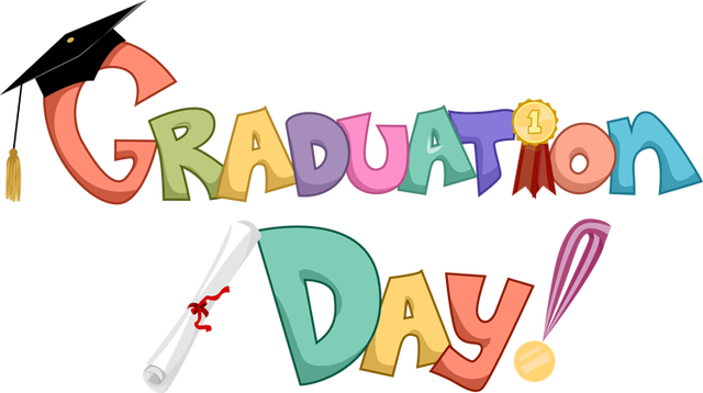 Congratulations graduate png. Colorful greeting card design