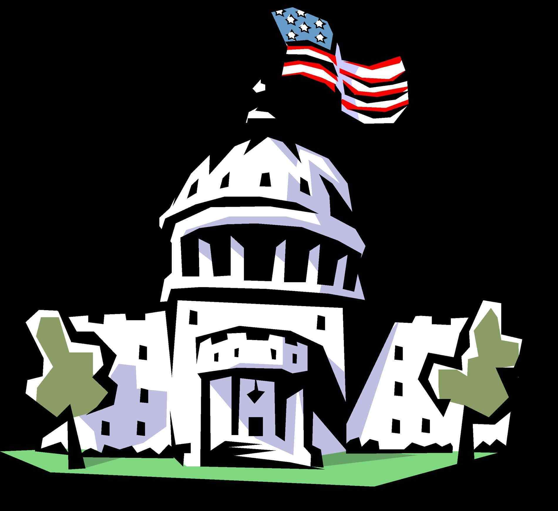 Congress clipart congress house. Building us pencil and