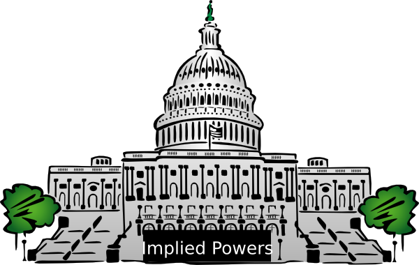 Congress clipart government politics. Implied powers clip art
